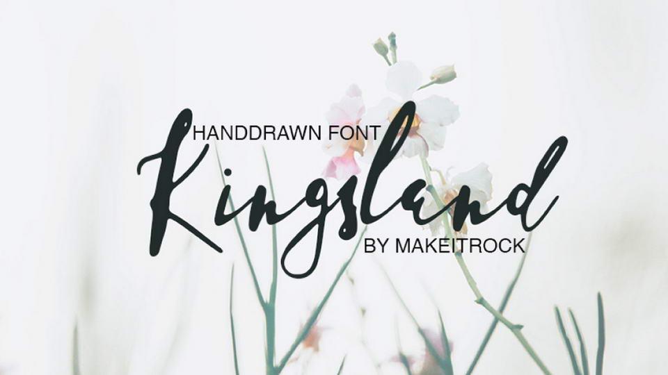 Tipografía moderna gratis para logos: Kingsland