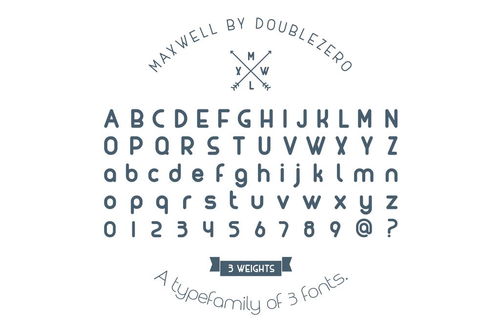 Tipografía moderna gratis para logos: Maxwell