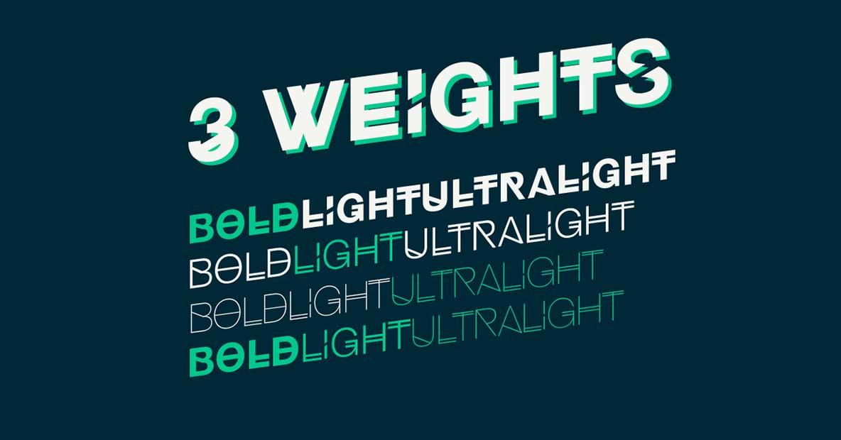 Tipografía moderna gratis para logos: Hipselvetica