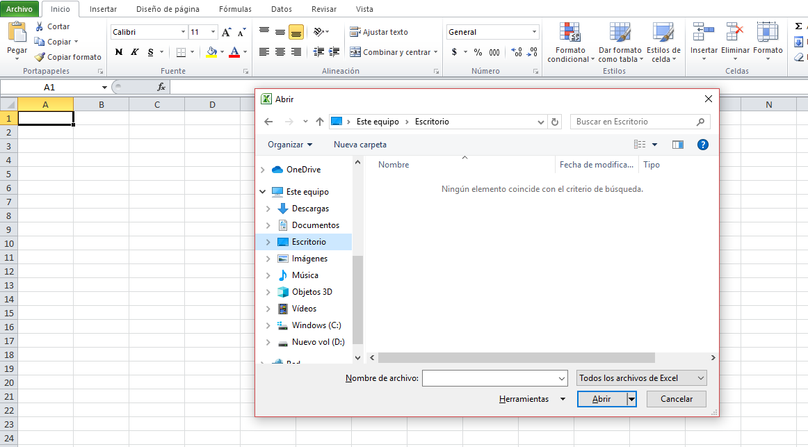 Atajo de Excel: cómo abrir, crear o cerrar rápidamente un libro