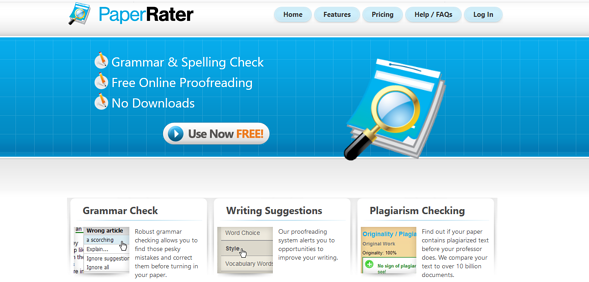 Programas de marketing de contenidos: Paper Rater