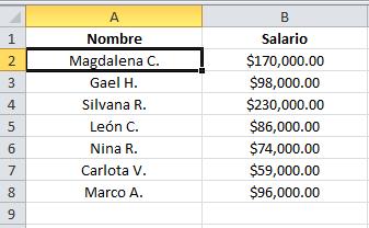 Atajo de Excel: cómo añadir signo de número