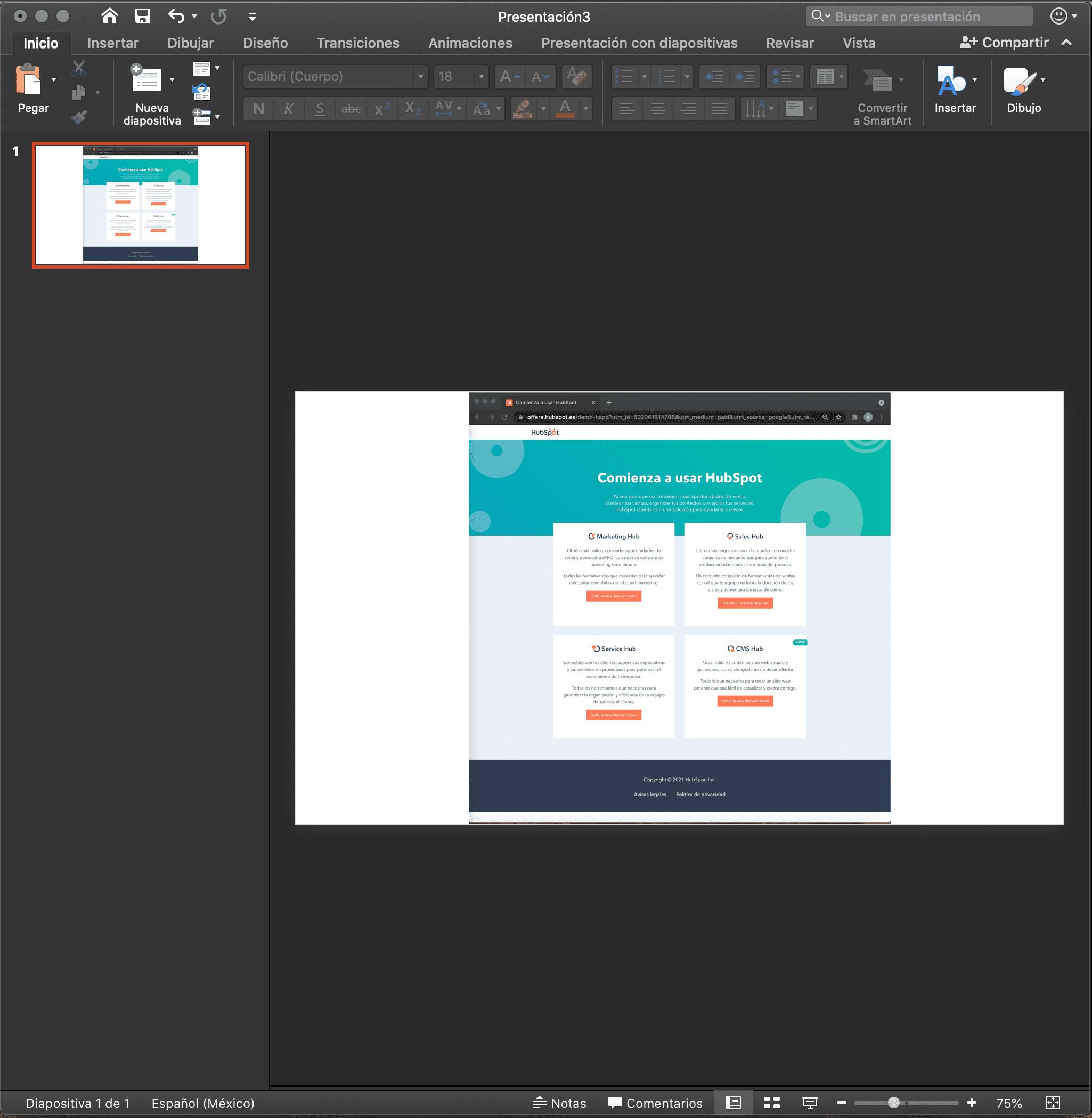 Añadir videos en PowerPoint