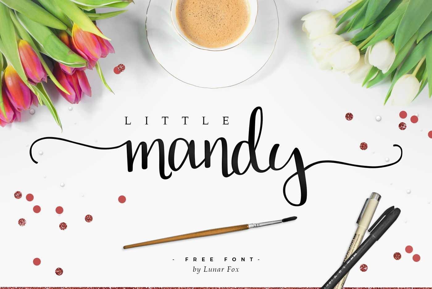 Tipografía elegante para logos: Little Mandy