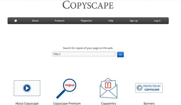 Programas de marketing de contenidos: Copyscape