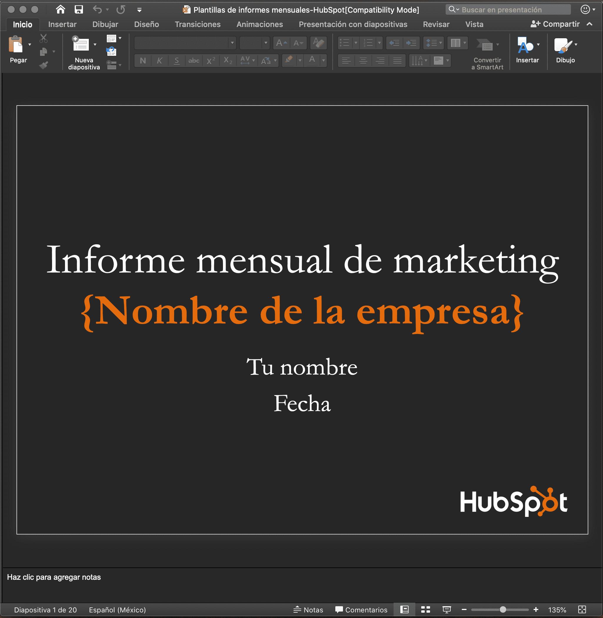 Utilizar mensaje simple en tus presentaciones de PowerPoint