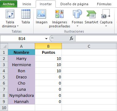 Atajo de Excel: cómo copiar formato