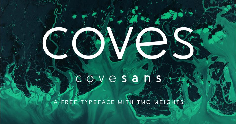 Tipografía elegante para logos: Coves