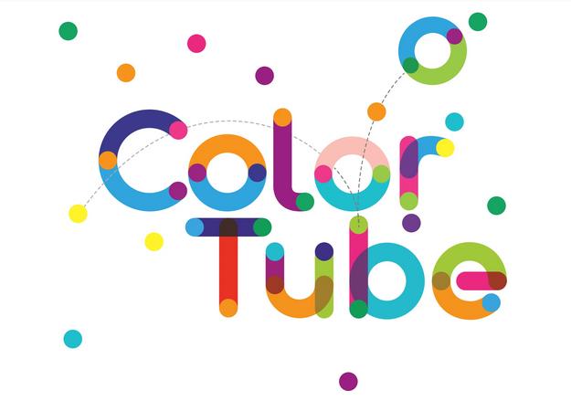 Tipografía creativa gratis para logos: Color Tube