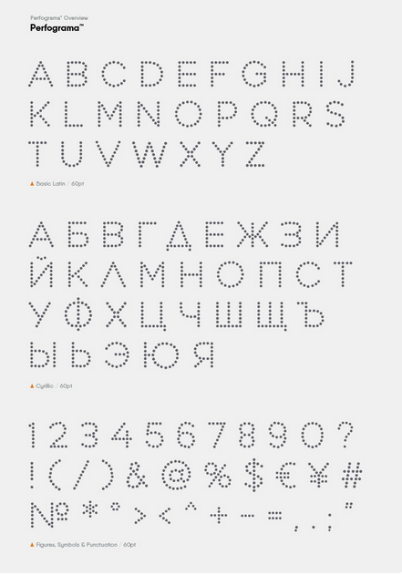 Tipografía creativa y gratis para logos: Perfograma
