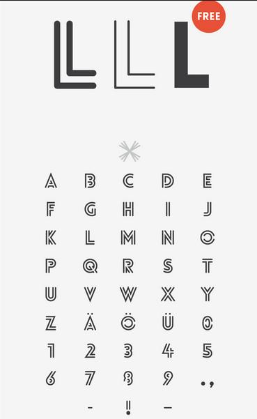 Tipografía creativa gratis para logos: Lovelo