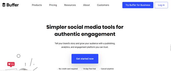 Programas de marketing de contenidos: Buffer