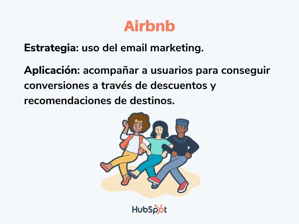 Plan de medios digitales de Airbnb