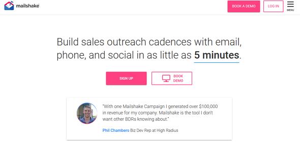 Programas de marketing de contenidos: Mailshake
