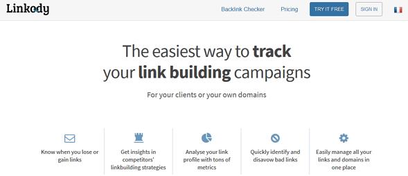 Programas de marketing de contenidos: Linkody
