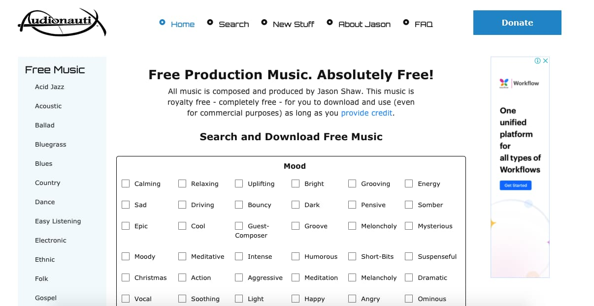 Música para presentaciones gratis: Audionautix