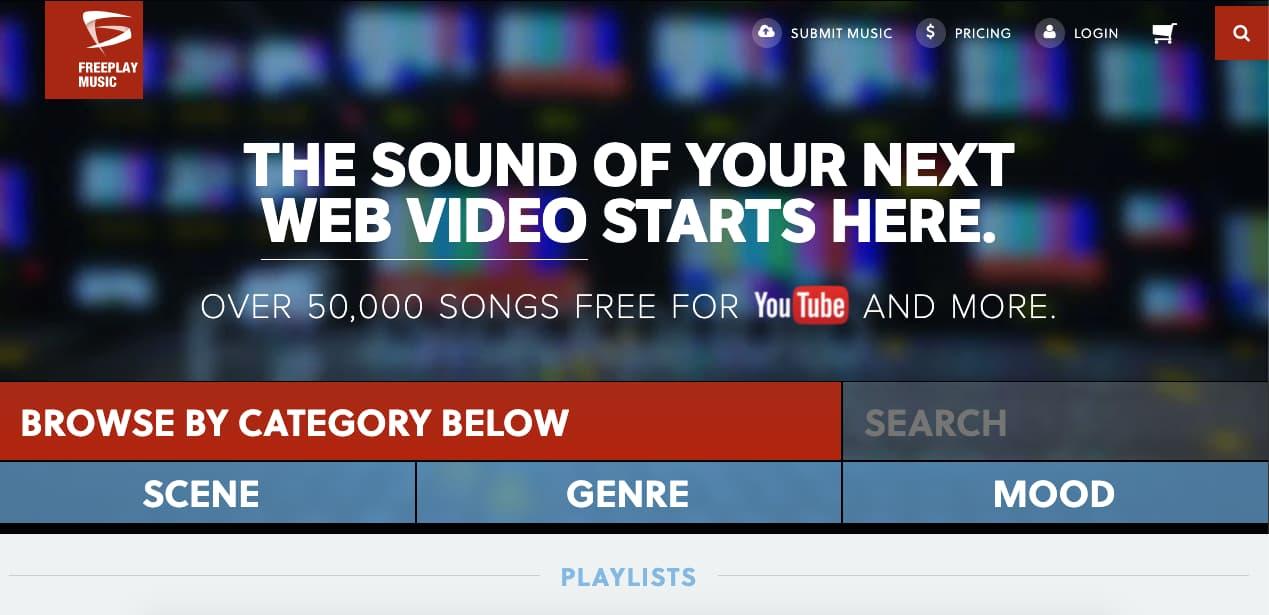 Música para presentaciones gratis: Freeplay Music