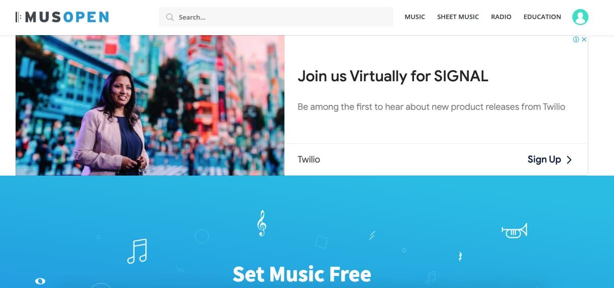 Música para presentaciones gratis: Musopen