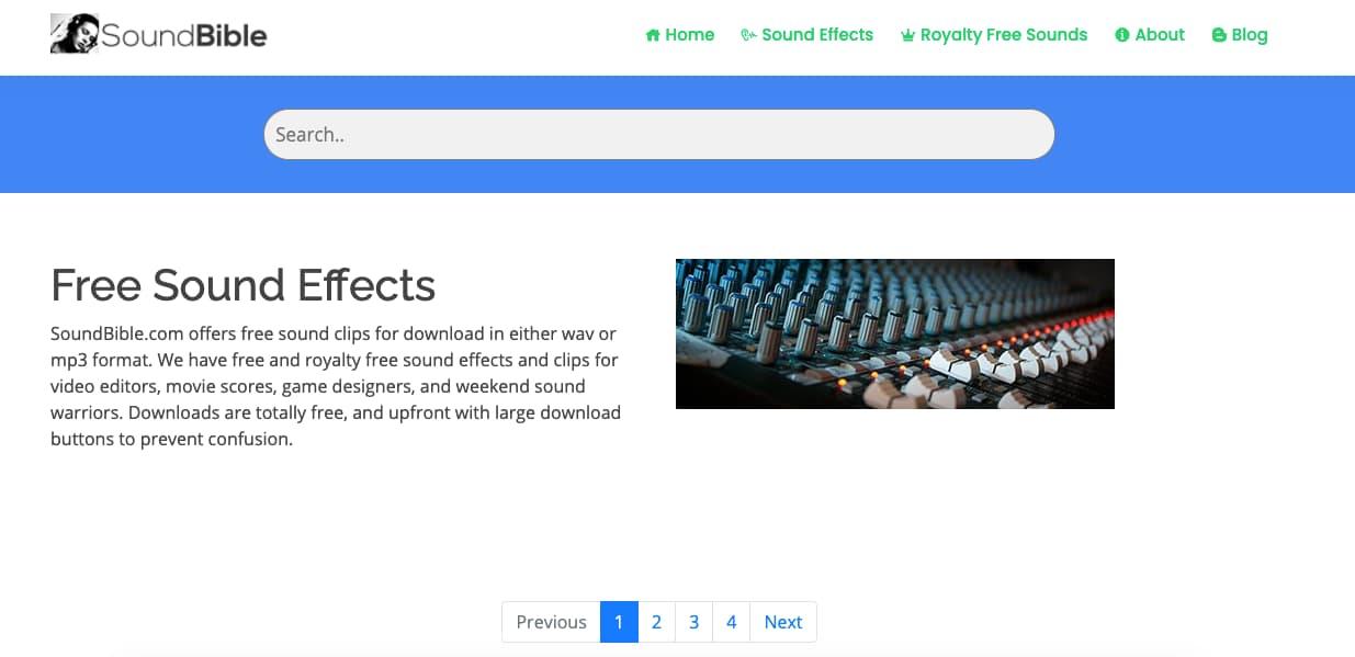 Música para presentaciones gratis: SoundBible