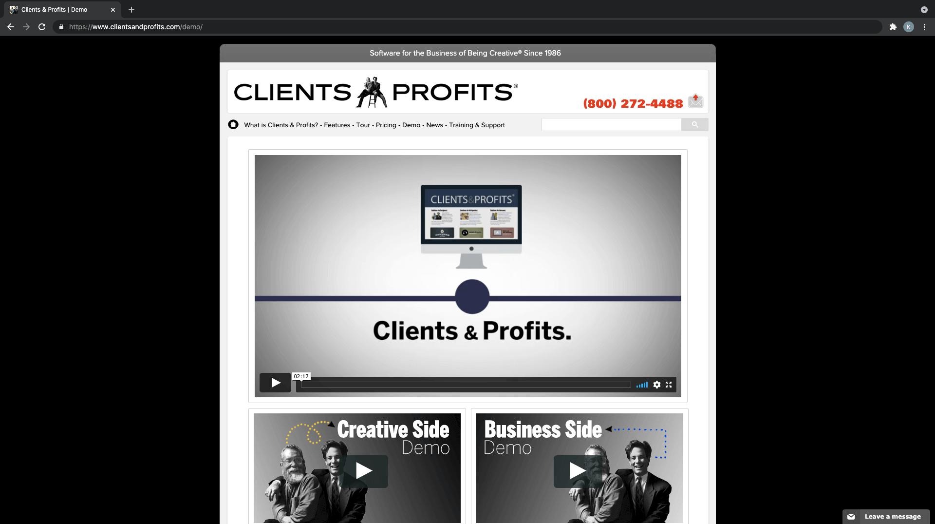 Clients & Profits, alternativa a CRM