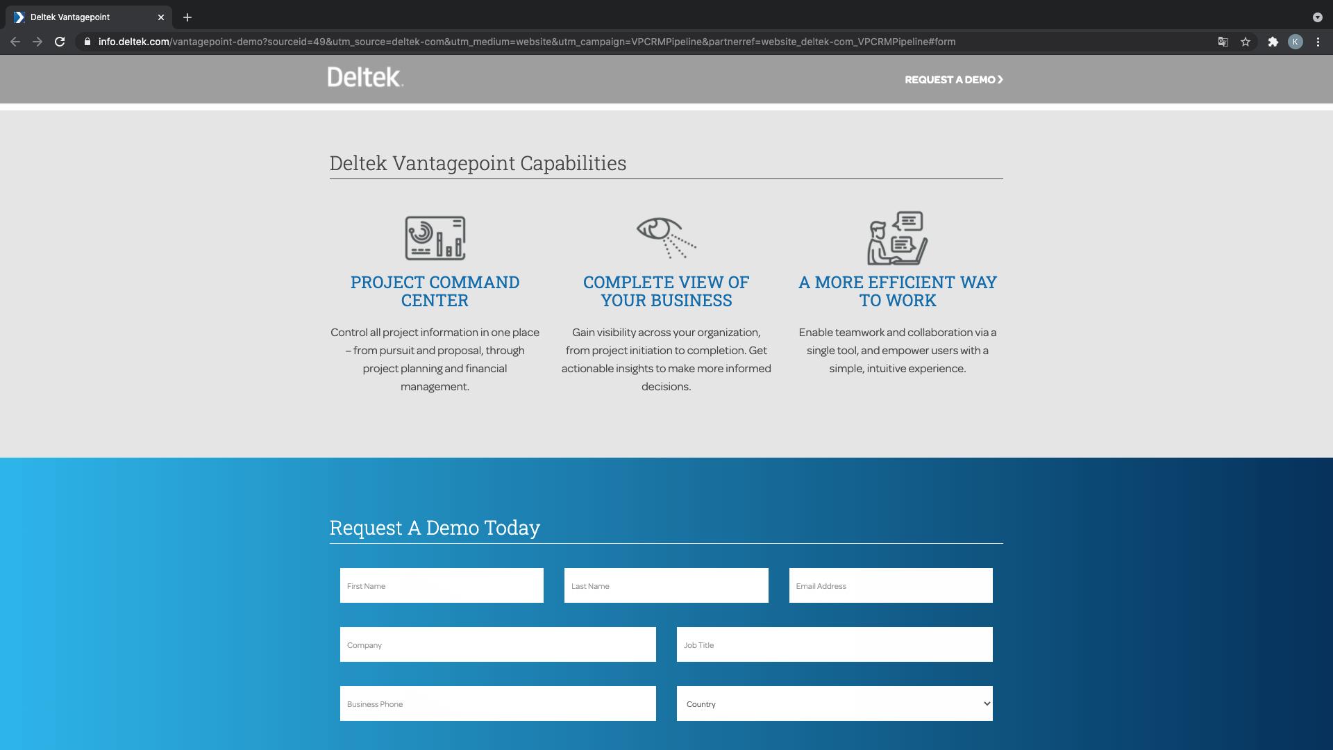 Deltek, herramienta administrativa disponible con versión de prueba