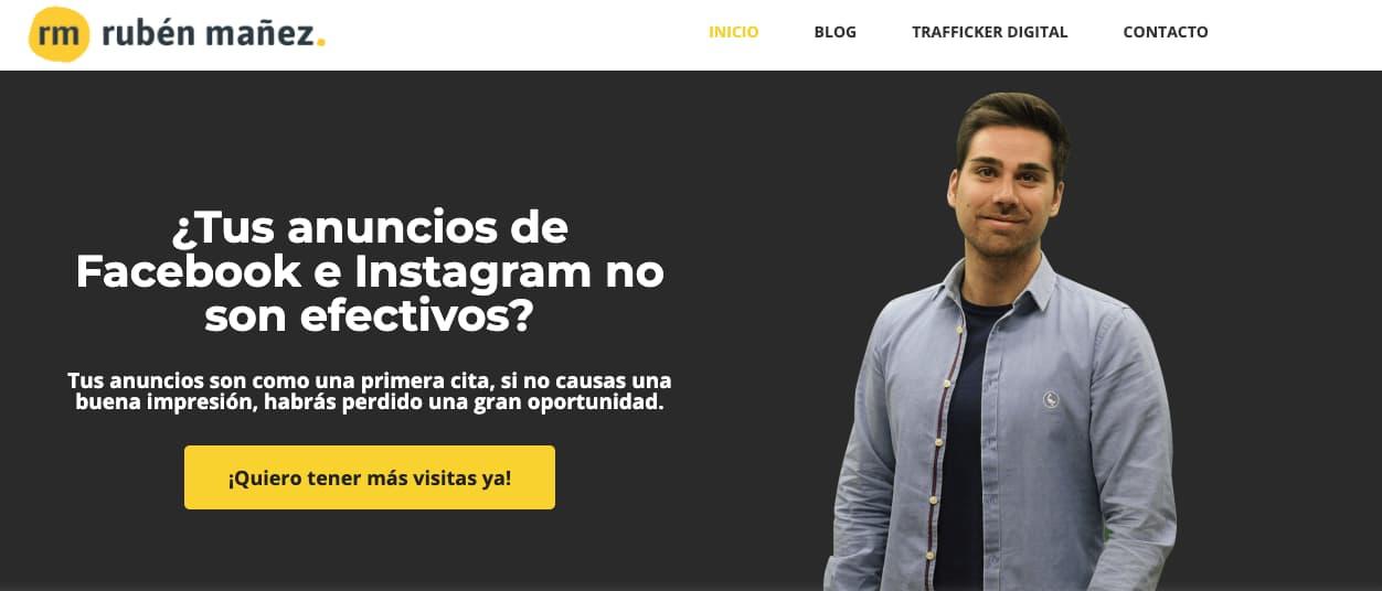 Ejemplo de frases para CTA  de Rubén Mañez
