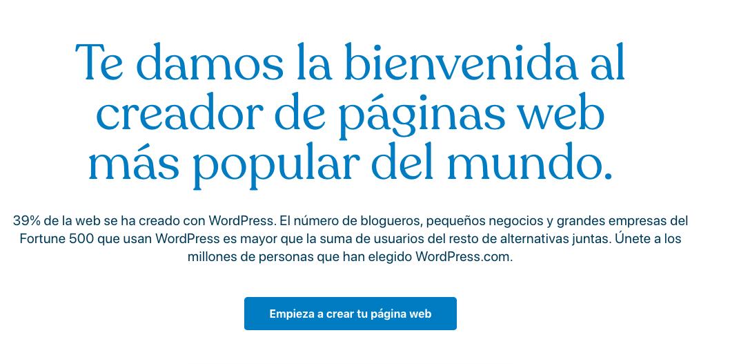 Entra a WordPress