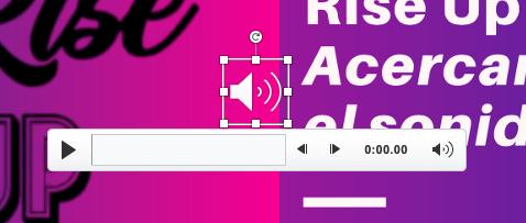 Cómo insertar audio en PowerPoint: herramientas de reproducción