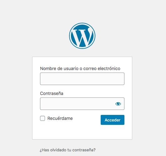 Cómo instalar un tema en WordPress: inicio