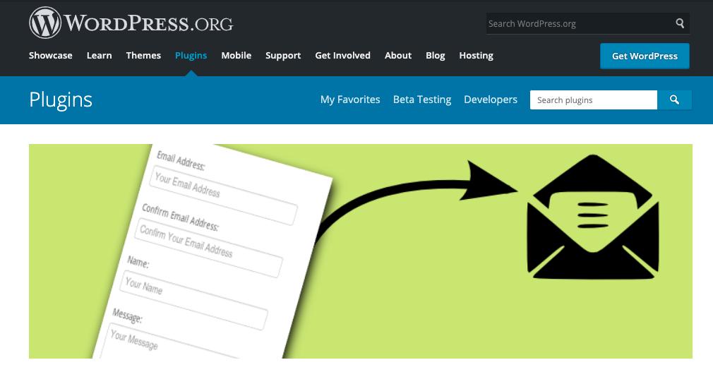 Mejores plugins para formulario de contacto de WordPress: Contact form clean and simple