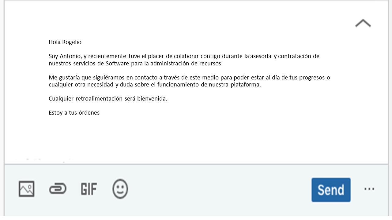 Cómo hacer un InMail para clientes
