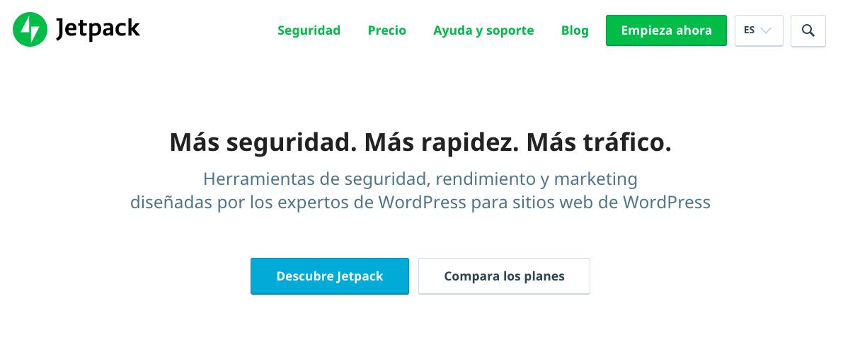 Mejores plugins para formulario de WordPress: JetPack