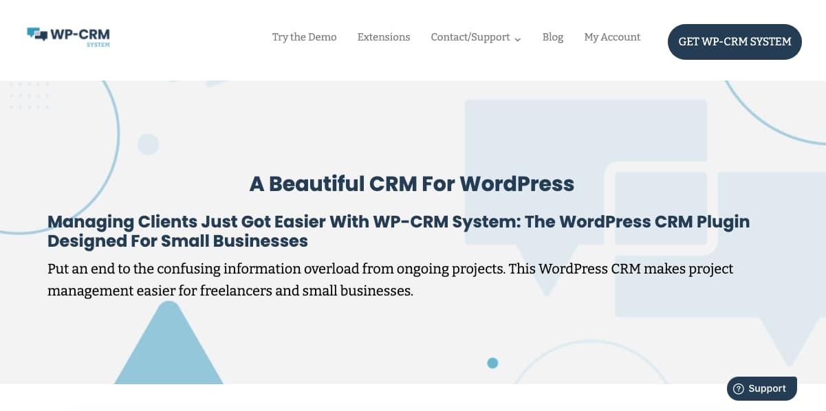 Plugins CRM para WordPress: WP-CRM