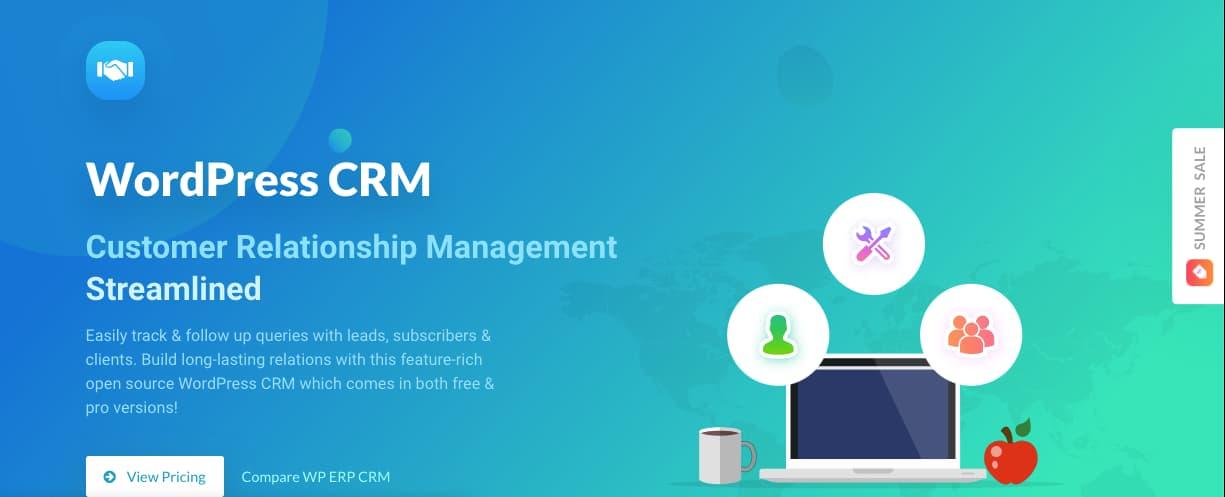 Plugins CRM para WordPress: WP ERP