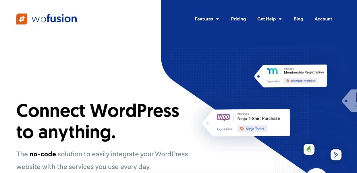 Plugins CRM para WordPress: WP Fusion