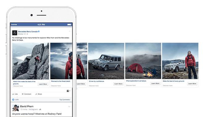 Tipos de anuncios en Facebook: anuncios por secuencia