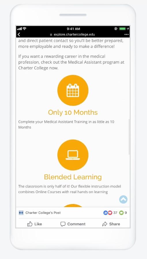 Tipos de anuncios en Facebook: diapositivas