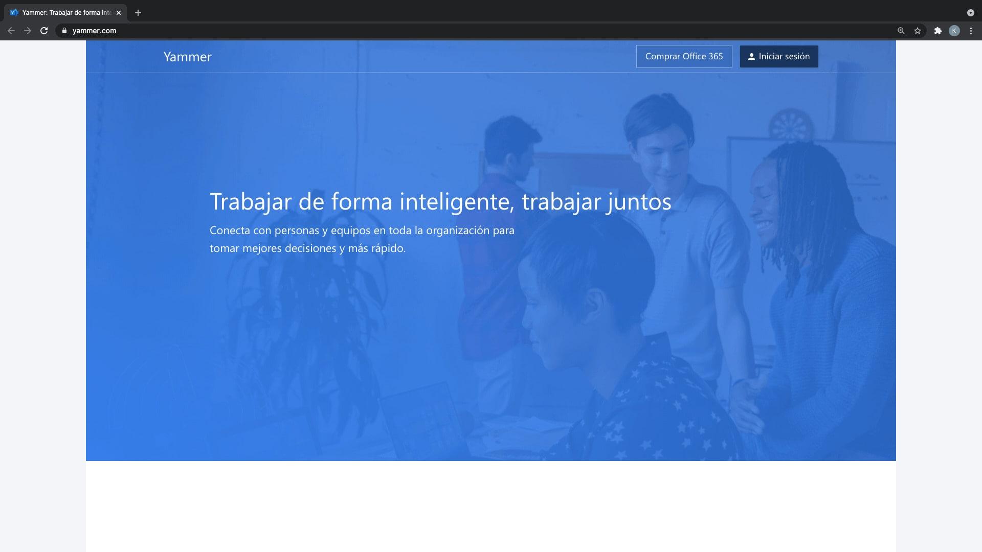 Yammer, plataforma para la comunicación empresarial