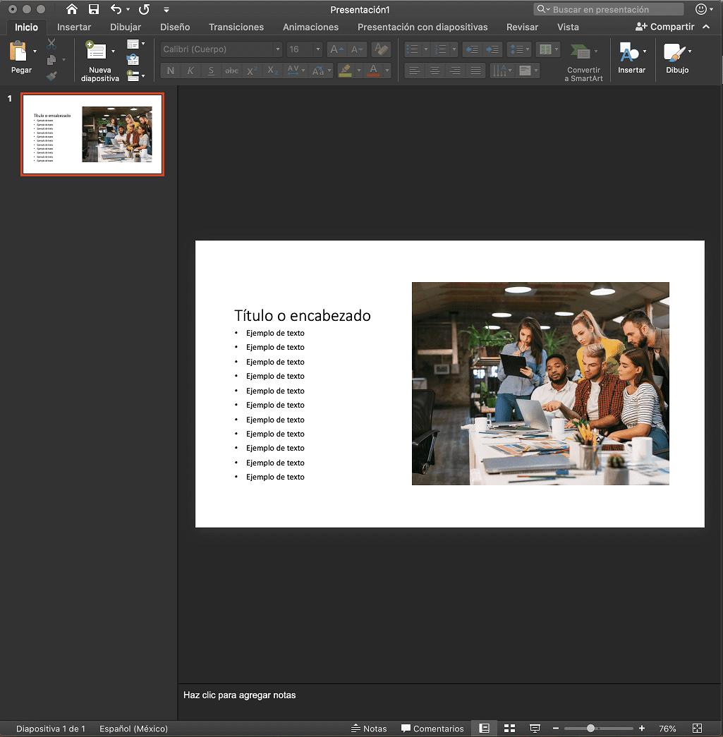 Cómo usar PowerPoint: contenido