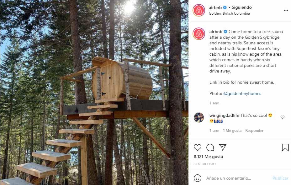 Ejemplo de prosumidores: Airbnb