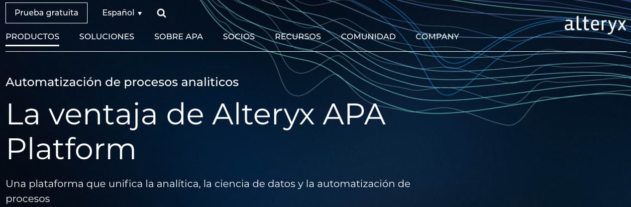 Herramienta para análisis predictivo: Alteryx