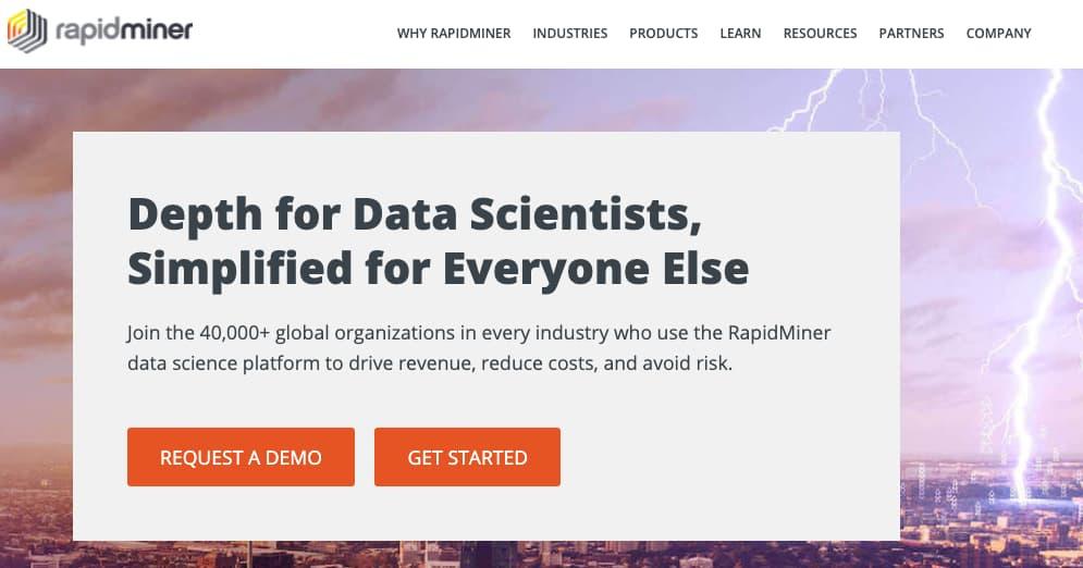 Herramienta para análisis predictivo: RapidMiner