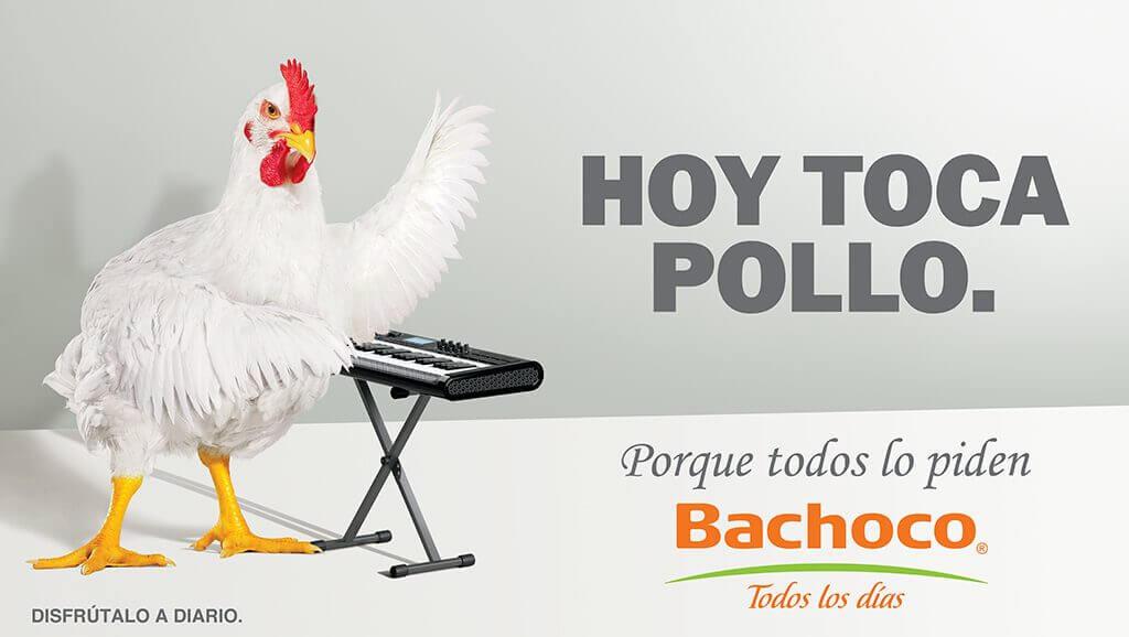 Ejemplo de anuncio publicitario creativo de Bachoco