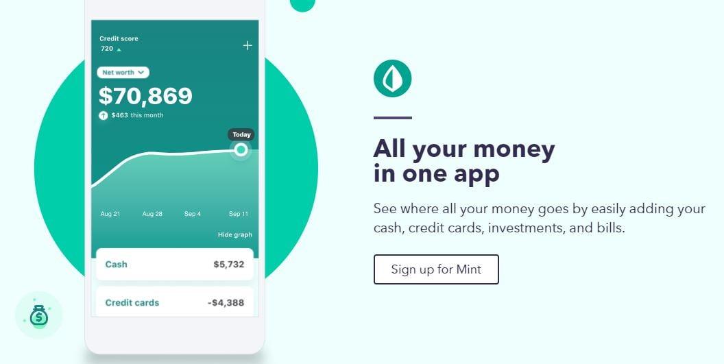 App para administrar negocios: Mint