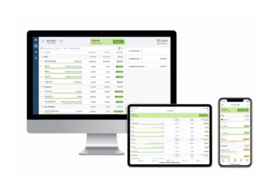 App para administrar negocios: You Need a Budget