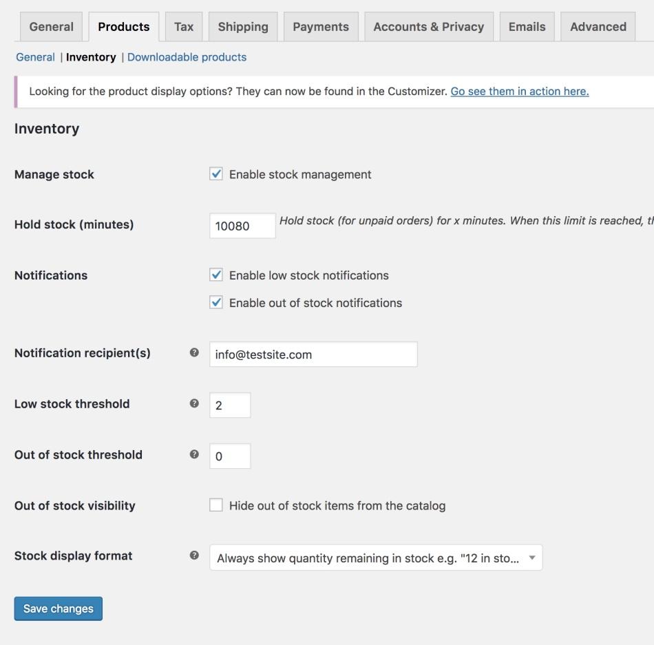 Automatización de inventario con WooCommerce