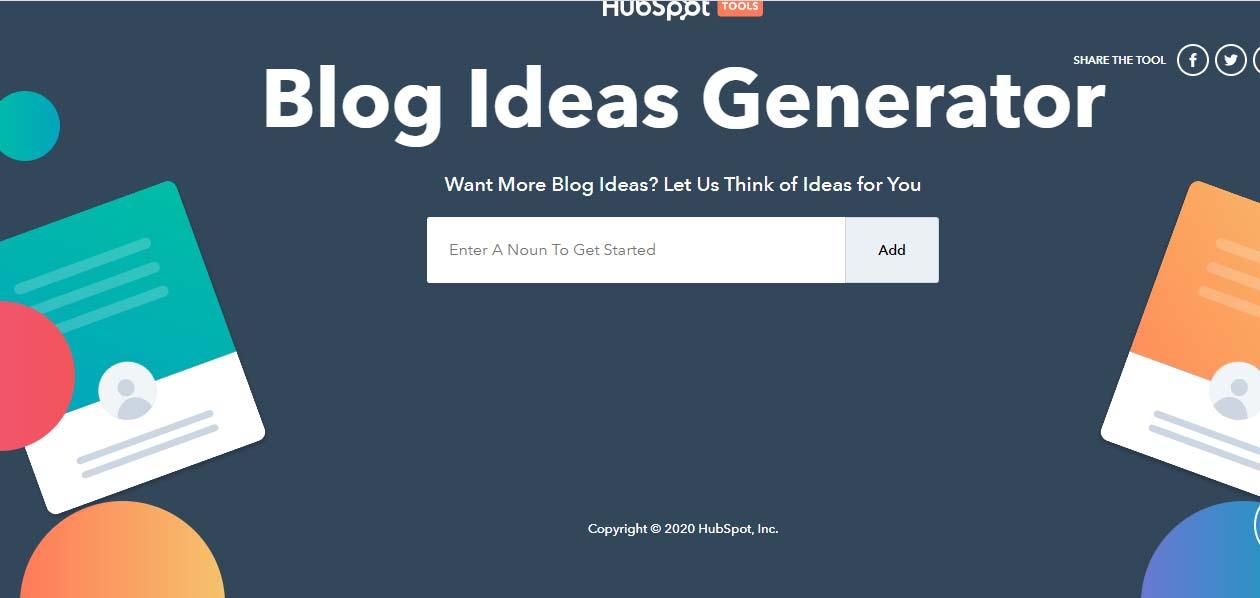 Herramientas para blog: Blog Generator de HubSpot