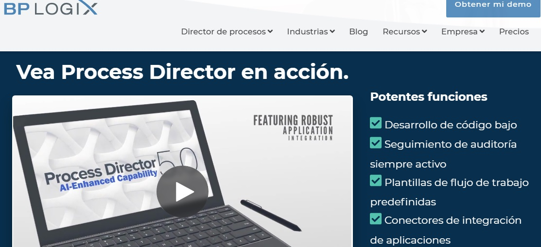 Software de workflow: BP Logix