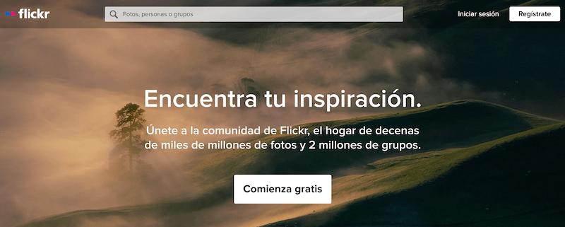 Buscadores de internet más utilizados, Flickr