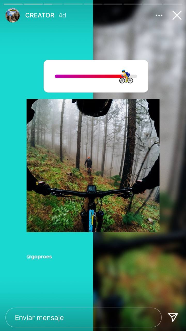 Campañas de Instagram que usan contenido de usuario: GoPro España